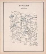 Hopkinton, New Hampshire State Atlas 1892 Uncolored